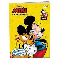 Kolorowanki, Miki i Przyjaciele. Kolorowanka z naklejkami - Praca zbiorowa