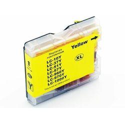 Tusz żółty LC1000Y / LC970Y do Brother DCP 135c / DCP 150c / 357c / Nowy zamiennik / 20ml