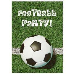 Zaproszenia personalizowane na urodziny Piłka Nożna - 8 szt.
