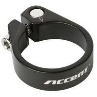 Śruby, 610-00-58_ACC Obejma podsiodłowa Accent ze śrubą imbusową Light 34.9mm, czarna piaskowana