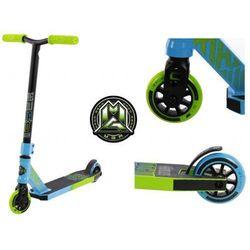 Hulajnoga wyczynowa Madd Gear Kick Rascal aluminiowa niebiesko zielona
