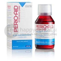 Dentaid PERIO-AID Intensive Care 0,12% CHX 150ml - płukanka dentystyczna zawierająca 0,12% Chlorheksydyny + Chlorku Cetylopirydyny 0,05% (MAŁA)
