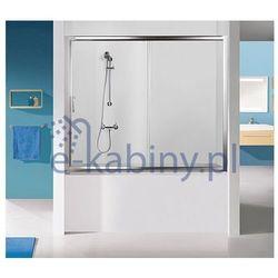 Sanplast Drzwi przesuwne nawannowe D2-W/TX5b-170-S sbW0 czyste szkło 600-271-1570-38-401