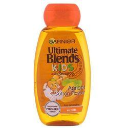 Garnier Ultimate Blends Kids Apricot 2in1 szampon do włosów 250 ml dla dzieci
