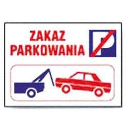 ZI-20 - ZNAK - Zakaz parkowania -holowanie rysunek