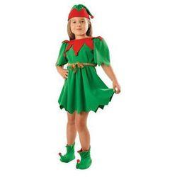 Kostium Elf Zielony sukienka - XS - 98/104 cm