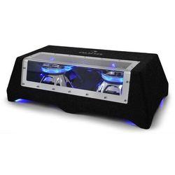"""Auna CB250-50 Subwoofer 2x 25cm (2x10 """")2 x 600W efekt świetlny LED"""
