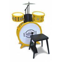 Instrumenty dla dzieci, Perkusja 4 elementowa ze stołkiem