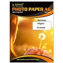 Savio papier PA-04 A6 błyszczący 50 ark Darmowy odbiór w 20 miastach!