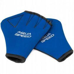 Aqua Speed Hand Paddle rękawiczki do pływania rozmiar S/M