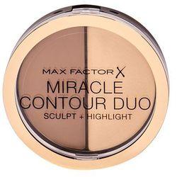 Max Factor Miracle Contour Duo bronzer 11 g dla kobiet Light/Medium