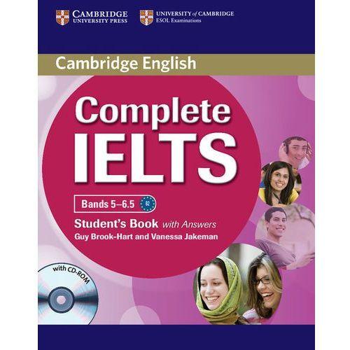 Książki do nauki języka, Complete IELTS Bands 5-6.5 Książka Ucznia z Odpowiedziami Plus CD-ROM (opr. miękka)