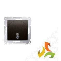 Dzwonek elektroniczny 230V, brąz mat DDS1.01/46 SIMON 54 PREMIUM