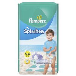 Pampers Splashers, R5-6, 10 jednorazowych pieluch do pływania