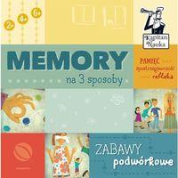 Gry dla dzieci, Kapitan Nauka Memory na 3 sposoby Zabawy podwórkowe - Edgard
