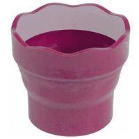 Pozostałe artykuły plastyczne, Pojemnik na wodę Click&Go różowy FABER CASTELL