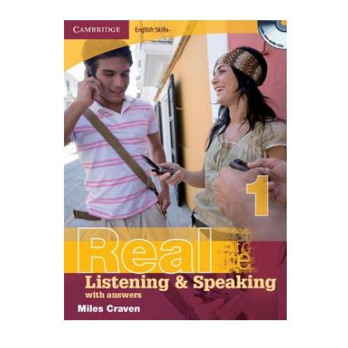 Książki do nauki języka, Cambridge English Skills Real Listening & Speaking 1 Paperback with Answers and Audio CDs (2) (opr. miękka)