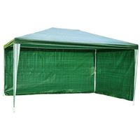 Namioty ogrodowe, PAWILON OGRODOWY 3x4 m +2 ŚCIANKI NAMIOT HANDLOWY - Zielony