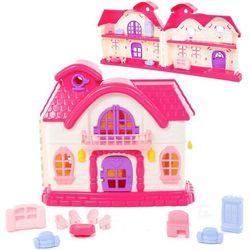 Domek dla lalek Bajka z zestawem akcesoriów
