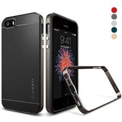Obudowa Spigen Neo Hybrid Carbon Apple iPhone 5 / 5S / SE Gunmetal - Gunmetal