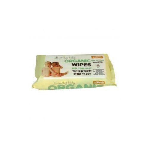 Chusteczki dla niemowląt, Organiczne chusteczki nawilżane - do skóry bardzo delikatnej, 72 szt