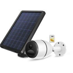 Kamera zewnętrzna IP bezprzewodowa z własnym zasilaniem akumulatorem oraz panelem solarnym LTE 4G 3G PIRI