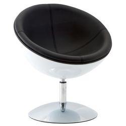 Fotel obrotowy Mercury - biały ||czarny