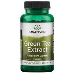 Green Tea Extract 500mg 60 kaps.