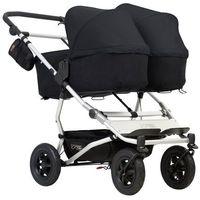 Wózki wielofunkcyjne podwójne, Mountain Buggy Duet 3+gondole+foteliki (do wyboru)+GRATIS