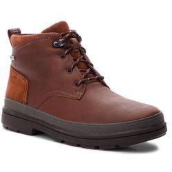 Kozaki CLARKS - RushwayMid Gtx GORE-TEX 261355547 British Tan Leather