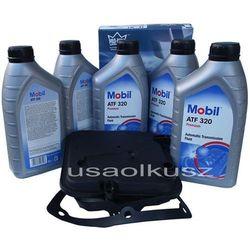 Półsyntetyczny olej MOBIL ATF320 oraz filtr oleju skrzyni biegów 4-spd Dodge Magnum V6