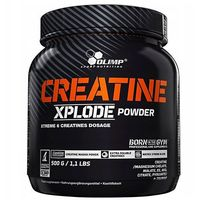 Kreatyny, CREATINE X-Plode powder 500g pomarańcz