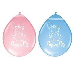 Balony lateksowe Świnka Peppa - 8 szt.