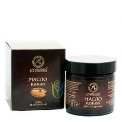 Masło (Olej) Kakaowe Nierafinowane Jadalne, Aromatika 100 % Naturalne, 50 g