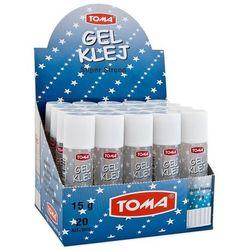 Klej żelowy w sztyfcie TOMA 21 g