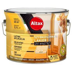 Lakier szybkoschnący Altax bezbarwny połysk 2,5 l