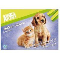 Naklejki, Album na naklejki A5 Animal Planet Cute