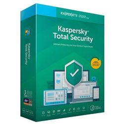 Oprogramowanie antywirusowe Kaspersky Total Security Multi-Device 2D2Y produkt cyfrowy ESD - KL1919PCBDS- Zamów do 16:00, wysyłka kurierem tego samego dnia!