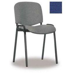 NOWY STYL Krzesło ISO BLACK, splot granatowo-czarny