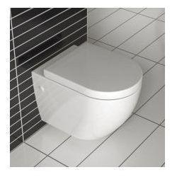 CARLO MINI RIMLESS Miska WC wisząca bezrantowa + deska wolnoopadająca