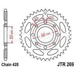 Zębatka tylna stalowa JT 269-35, 35Z, rozmiar 428 2300525 Honda XL 185, CM 125