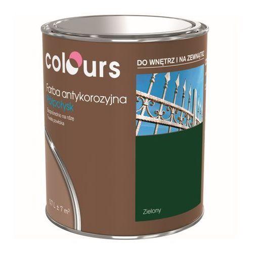 Farby, Farba antykorozyjna Colours zielona 0,7 l