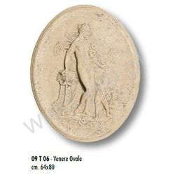 Dekor Antyczny Trawertynowy VENERE OVALE 64x80 cm
