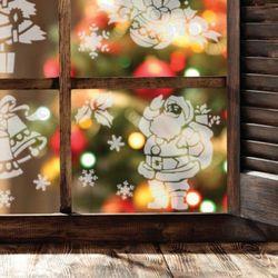 5szt. szablonów wielokrotnych do sztucznego śniegu #2