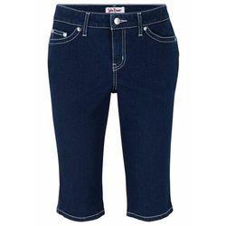 """Bermudy z miękkiego dżinsu ze stretchem bonprix ciemnoniebieski """"stone"""""""