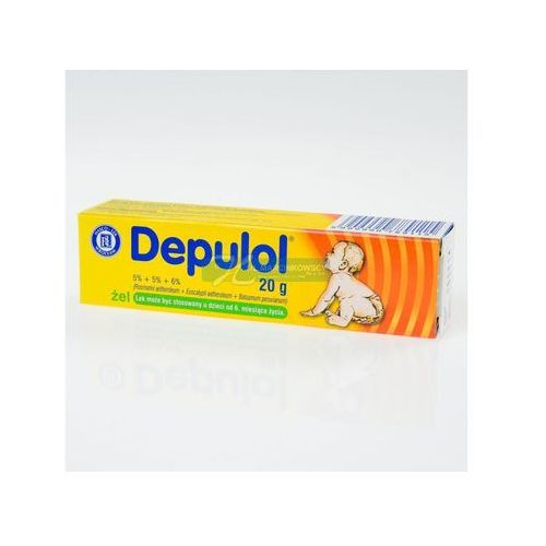 Leki na katar i zatoki, Depulol żel 20 g