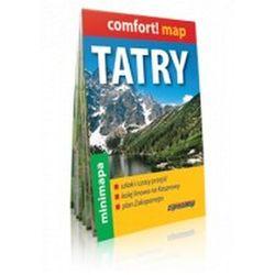 Tatry mini mapa 1:80 000 (opr. miękka)