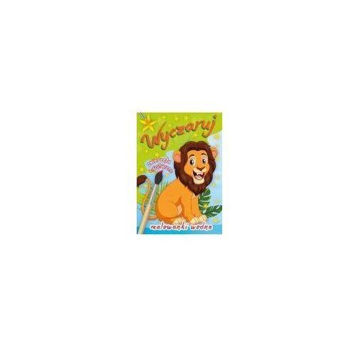 Książki dla dzieci, Wyczaruj zwierzęta egzotyczne. Malowanki wodne