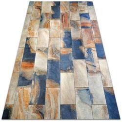 Modny uniwersalny dywan winylowy Modny uniwersalny dywan winylowy Marmurowa kostka