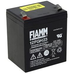 Fiamm 12FGH23 - Akumulator ołowiowy 12V/5Ah/faston 6,3mm